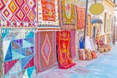 土耳其地毯的颜色 库存照片