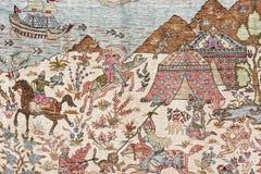 土耳其地毯 库存照片