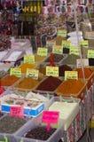 土耳其市场 香料 免版税库存照片