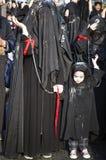 土耳其希雅的妇女在阿修罗游行参与 免版税库存照片