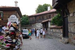 土耳其建筑学传统议院在保加利亚 库存照片