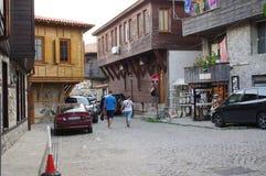 土耳其建筑学传统议院在保加利亚 免版税库存照片