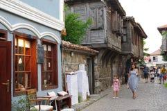土耳其建筑学传统议院在保加利亚 免版税库存图片