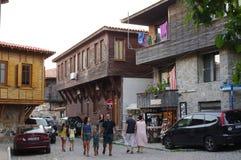 土耳其建筑学传统议院在保加利亚 库存图片