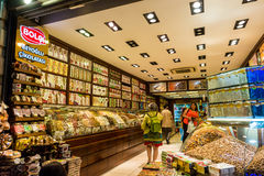 土耳其快乐糖商店 免版税库存图片