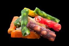 土耳其快乐糖棍子甜点食物 免版税图库摄影