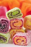 土耳其快乐糖 免版税库存图片