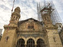 土耳其政府恢复Ketchoua清真寺(keciova camii) 清真寺是一个重要i 图库摄影