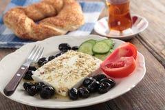 土耳其早餐 库存图片