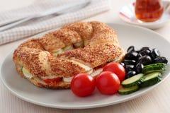 土耳其早餐 免版税图库摄影