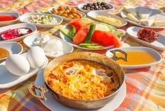 土耳其早餐1 库存照片