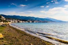 土耳其暑假镇 免版税库存图片