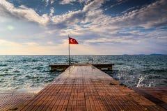 土耳其暑假镇 免版税库存照片