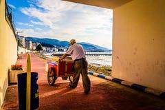 土耳其暑假镇 库存照片