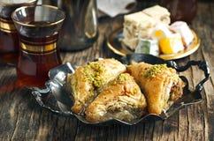 土耳其曲奇饼的甜点 图库摄影