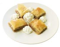土耳其曲奇饼的甜点 免版税库存图片