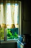 土耳其村庄议院厨房 库存图片