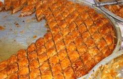 土耳其果仁蜜酥饼2 库存图片