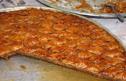 土耳其果仁蜜酥饼 图库摄影