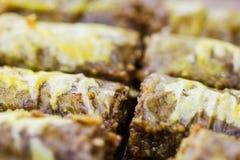 土耳其果仁蜜酥饼 库存照片