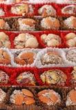 土耳其欢欣的甜点 图库摄影