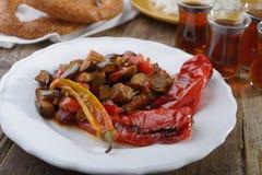 土耳其正餐 免版税库存图片