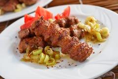 土耳其正餐 库存照片