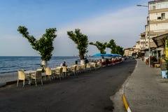 土耳其海边镇 免版税库存照片