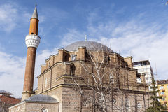 土耳其清真寺在市的中心索非亚,保加利亚 库存图片