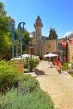 土耳其清真寺在采法特,上部内盖夫加利利,以色列 免版税库存图片