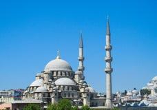 土耳其清真寺 库存照片