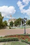 土耳其清真寺Banya Bashi清真寺在市的中心索非亚,保加利亚 免版税图库摄影