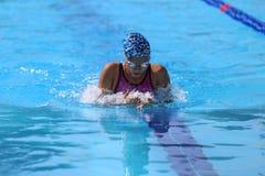 土耳其游泳冠军 免版税库存图片