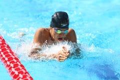 土耳其游泳冠军 库存图片