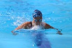 土耳其游泳冠军 图库摄影