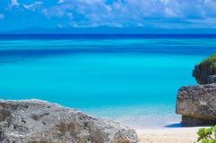 土耳其玉色海滩 库存图片