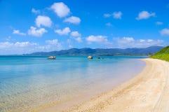 土耳其玉色海滩 库存照片