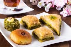 土耳其甜点 库存照片