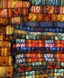 土耳其的地毯 库存照片