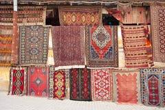 土耳其的地毯 免版税库存照片