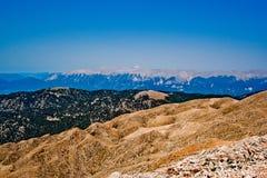 土耳其的山 库存照片
