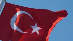 土耳其的标志 股票视频