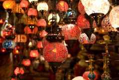土耳其的灯笼 库存照片