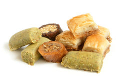 土耳其的甜点 库存照片