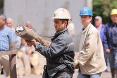 土耳其的矿工 免版税图库摄影