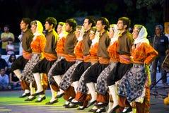 土耳其的舞蹈演员 库存图片