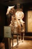 土耳其的金属装甲从15世纪末的在卡塔尔 免版税库存照片