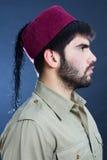 土耳其盖帽 库存图片