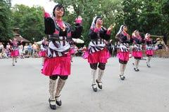 土耳其舞蹈演员 免版税库存照片