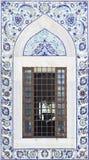 土耳其艺术性的墙壁瓦片 库存照片